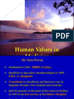 SARAPAVAN Human Values … English