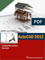 Aprede AutoCAD 2D Fundamentos Toericos y Ejercicios