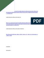 Modelo Rectificacion Estado Civil