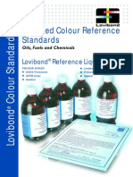 Certified Colour Reference Standards Brochure