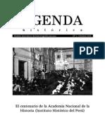 Agenda Historica N° 1. Octubre 2005