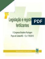 Legislao e Registro de Fertilizantes