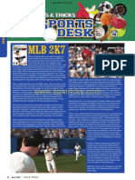 Tips and Tricks Sports Desk