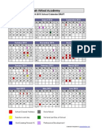 utva sy14-15 calendar 2