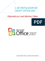 Manual de Instalacion de Office 2007