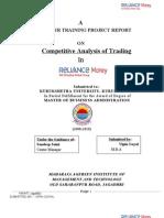 Mba Finance Project Reports Pdf