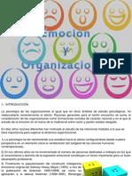 Emocion y Org