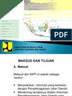 Bahan Persentasi Aplikasi SIPPJD Dirjen Bina Marga Rev.3