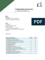 Acta CONFECh 2014-08 - Universidad de Concepción Campus Chillán, Chillán 14-06