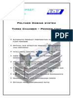 Polymer dosing unit