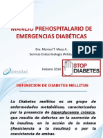 Diabetes Prehospitalaria