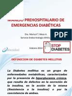 Diabetes Prehospitalaria