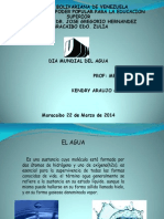 Exposicion Del Tema Sobre El Agua.