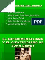 El Experimentalismo y Cientificismo de J.dewey