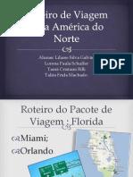 Roteiro de Viagem para América do Norte.pptx