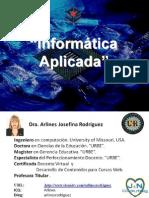 0. Bienvenida Informatica Aplicada