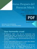 Honduras Después Del Huracán Mitch