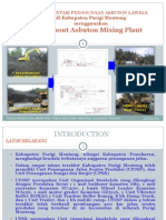 Parmout Asbuton Mixing Plant