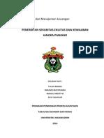 Penerbitan Sekuritas Ekuitas