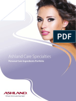Ashland Care Specialties Overview Guide Updates