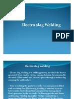 Electroslag Welding..