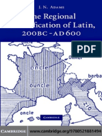 The Regional Diversification of Latin