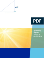 CHI Quarterly Report June 2014