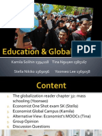 Globalization and Education the Real One