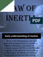Law of Inertia by CJ Bernal