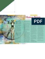 Genes Machines and Human Beings