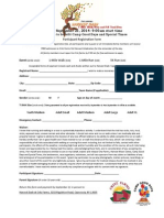 Participant Registration Form 2014