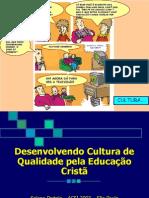Cultura e Educação Cristã