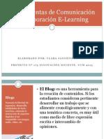 Herramientasdecomunicacinycolaboracine Learning 131127094418 Phpapp01