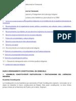 Tema IV Nuevo Ordenamiento Constitucional en Venezuela
