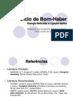 Ciclo de Born Haber (3)