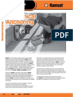 Ramset Specifiers Resource Book Ed3 - Mechanical Anchoring