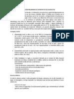 INVESTIGACIÓN PRELIMINAR PARA LA PRESENTACION DE UN PROYECTO DE ACUEDUCTOS
