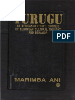 76901220 Yurugu an African Centered Critique of European Cultural Thought and Behavior Marimba Ani Smaller