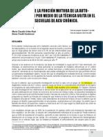 Efecto Sobre La Funcion Motora de La Autoestimulacion Por Medio de La Tecnica Vojta en Pcte Con Secuelas de Acv Cronico (1)