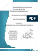 Electrolisis Informe Completo