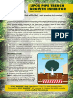 UPGI Pipe Trench Root Growth Inhibitor Installation Guide(2)