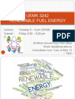 Renewable Energy Chapter 1
