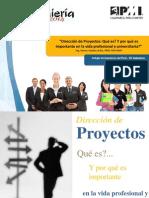 Dirección de Proyectos - PMI Cajamarca
