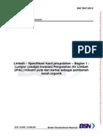 26895_SNI 7847-2012 _Limbah - Spesifikasi Hasil Pengolahan_Web