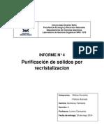Informe Quimica Organica 4 Readyx