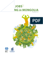 Green Jobs Mapping In Mongolia