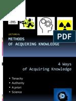 Lecture #1. Sci-Sci Method