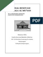 Proposal Renovasi Mushala