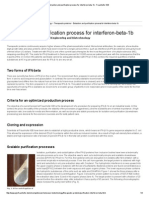 Extraction and Purification Process for Interferon-beta-1b - Fraunhofer IGB