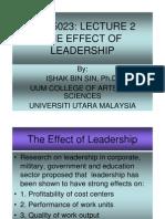 2 Gdu5023 the Effects of Leadership
